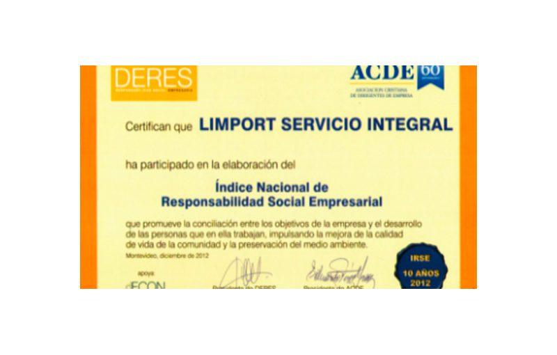 Indice Nacional de Responsabilidad Social Empresarial