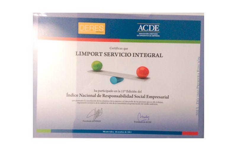 Indice Responsabilidad Empresarial 2013