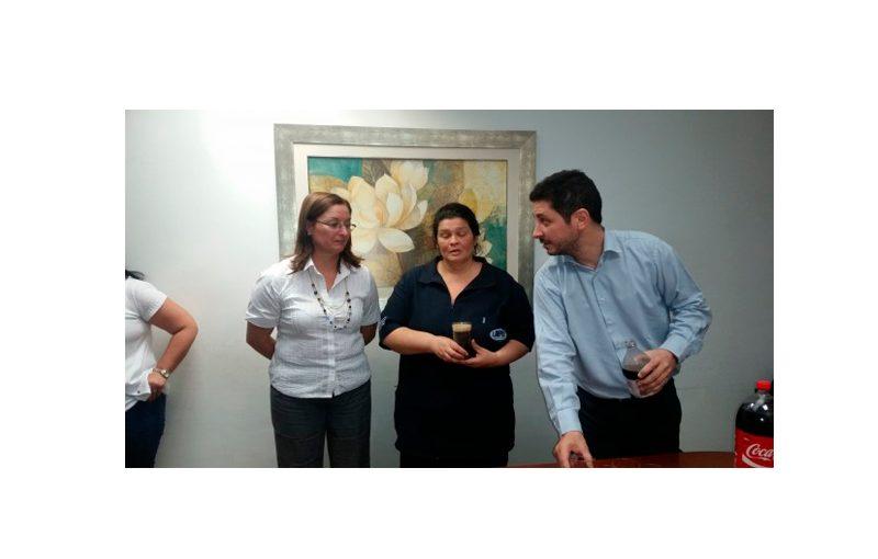 Reconocimiento a la funcionaria Daniela Paz