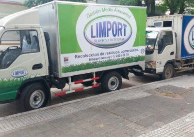 camiones servicios Limport